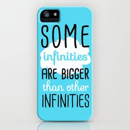 Some Infinities - The Fault In Our Stars iPhone Case