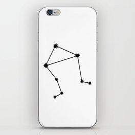 Libra Astrology Star Sign Minimal iPhone Skin