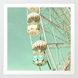 Ferris Baskets Art Print