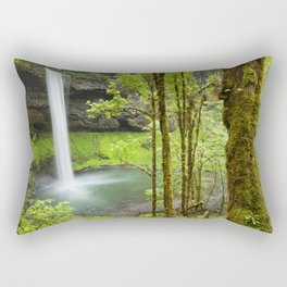 South Falls in the Silver Falls State Park, Oregon, USA Rectangular Pillow