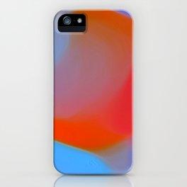 Diffuse colour iPhone Case