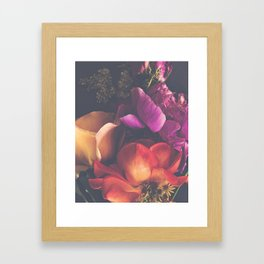 Color Burst Florals Framed Art Print