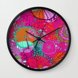 Oh the pinkness Wall Clock