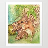 Viridis Corde (Green Heart) Art Print