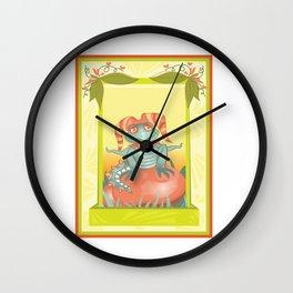 Jester Fragon Wall Clock