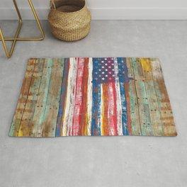 Nostalgic American Flag Rug