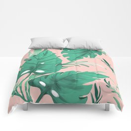 Tropical Love Comforters