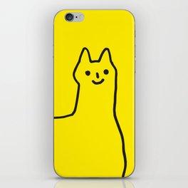 Happy Alpaca iPhone Skin