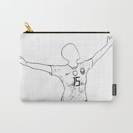 Megan Rapinoe: I Won't Apologize Carry-All Pouch