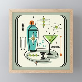 Atomic Martini ©studioxtine Framed Mini Art Print
