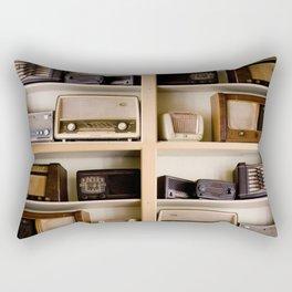 Vintage music Rectangular Pillow
