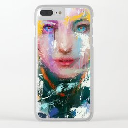 EPPA MERCY Clear iPhone Case