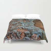 tapestry Duvet Covers featuring Tapestry by Kent Moody