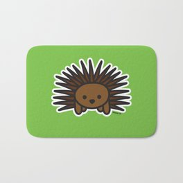 Cute Hedgehog Bath Mat