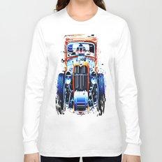 exploding pixels car Long Sleeve T-shirt