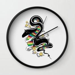 Many Colors Wall Clock