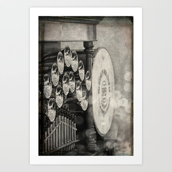 Sound and Light (ANALOG zine) Art Print