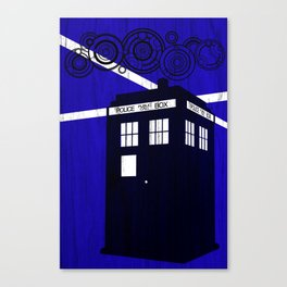Doctor Wood Canvas Print