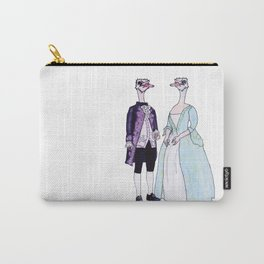 Master and Mistress Ostrich Carry-All Pouch