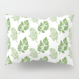 Dill and Parsley Pillow Sham