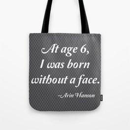 Age 6 Tote Bag