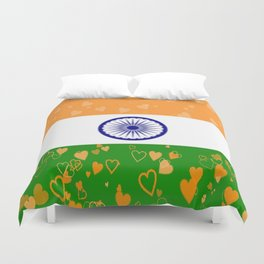 Love India-458 Duvet Cover
