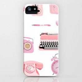 Think Pink iPhone Case