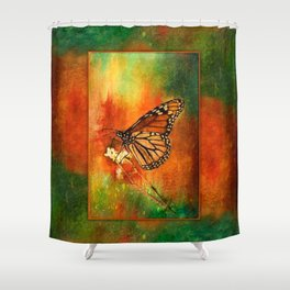 Monarch Butterfly ~ Ginkelmier Inspired Shower Curtain