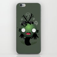 zombie iPhone & iPod Skins featuring Zombie by Maria Jose Da Luz
