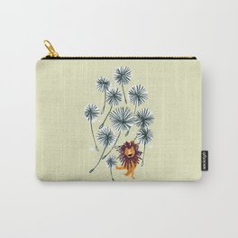 Lion on dandelion Carry-All Pouch
