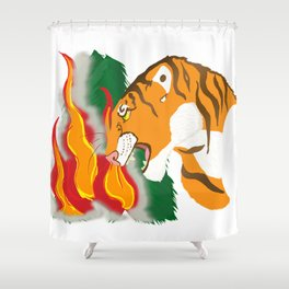 Voice of Nature Shower Curtain