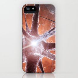Neurons iPhone Case