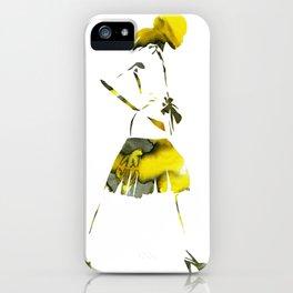 Figurative Fashion Art iPhone Case