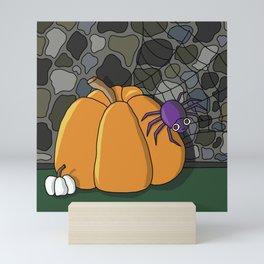 Spooky Spider Mini Art Print