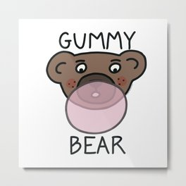 Gummy Bear Metal Print