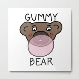 Gummy Bear Metal Print