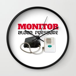 Blood pressure monitoring Wall Clock