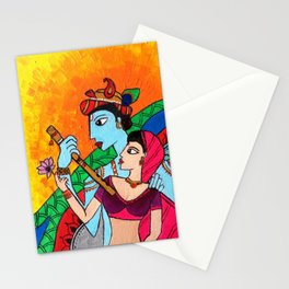 Indulgence -Abstract art Stationery Cards