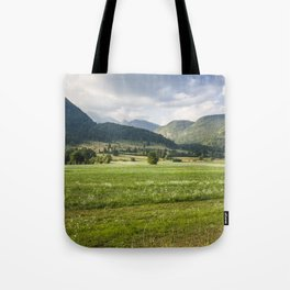 Mountainscape Tote Bag