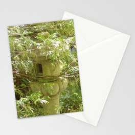 Hidden Pagoda In Lush Landscape Stationery Cards