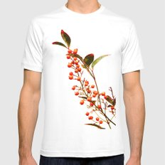 A Fruitful Life Mens Fitted Tee MEDIUM White