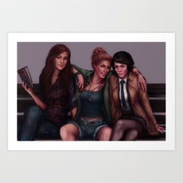 Team Free Will Art Print