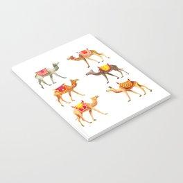 Cute watercolor camels Notebook