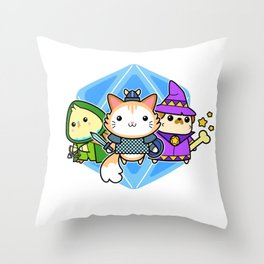 AWW.P.G. Throw Pillow