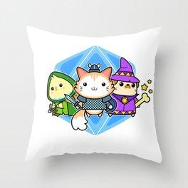 AWW.P.G. Throw Pillow
