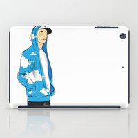 rap iPad Cases featuring Rap in the sky by LuiSegni
