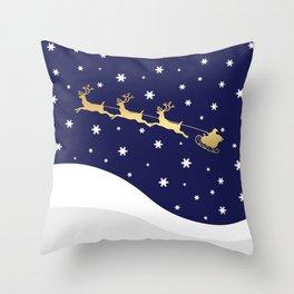 Christmas Santa Claus Throw Pillow