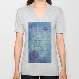 Lune Bleue No. 1 Unisex V-Neck