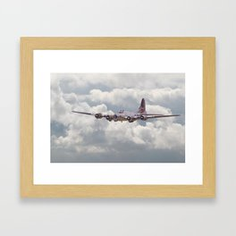 B17- 'Yankee Warrior' Framed Art Print