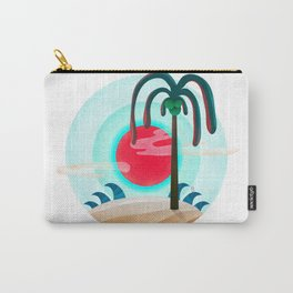 064 - Sunny chic island Carry-All Pouch